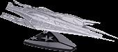 """Mass Effect - Alliance Cruiser 10"""" Replica (Silver Plated)"""