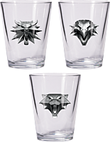 The Witcher 3: Wild Hunt - Shot Glass Set of 3