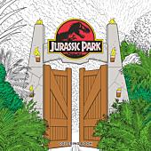 Jurassic Park - Colouring Book Paperback