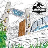 Jurassic World - Colouring Book Paperback