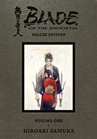 Blade of the Immortal - Deluxe Edition Volume 01 Manga Hardcover Book