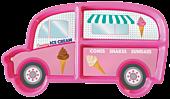 Dinner Time - Ice Cream Van Plate