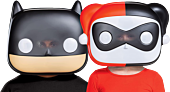 Batman - Batman & Harley Quinn Funko Pop! Vacuform Mask Bundle (Set of 2)