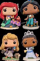 Disney Princess - Ariel, Jasmine, Tiana & Aurora Ultimate Pop! Vinyl Bundle (Set of 4)