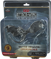 Dungeons and Dragons - Attack Wing W3 Silver Dragon