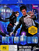 Doctor Who - The Complete Fifth Series Box Set Blu-Ray (6 Discs)