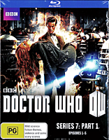 Doctor Who - Series 7: Part 1 Episodes 1-5 Blu-Ray (2 Discs)