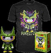 Dragon Ball Z - Perfect Cell Metallic Funko Pop! Vinyl Figure & T-Shirt Box Set.