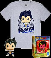 Dragon Ball Z - Vegeta Metallic Funko Pop! Vinyl Figure & T-Shirt Box Set.