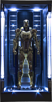 Iron Man 3 - Hall of Armor Mark XXI (21) 1/9th Scale Action Hero Vignette Model Kit Statue Main Image