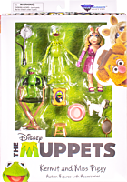 "The Muppets - Kermit the Frog & Miss Piggy 7"" Scale Deluxe Action Figure 2-Pack"