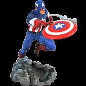 "The Avengers - Captain America VS. Marvel Gallery 10"" PVC Diorama Statue"