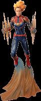 "Captain Marvel (2019) - Captain Marvel Binary Marvel Gallery 11"" PVC Diorama Statue"