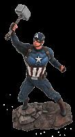 "Avengers 4: Endgame - Captain America Marvel Gallery 9"" PVC Diorama Statue"