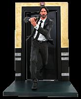 "John Wick - John Wick Running Gallery 9"" PVC Diorama Statue"