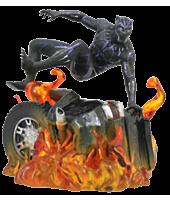 "Black Panther (2018) - Black Panther Car Wreck Marvel Gallery 9"" PVC Statue"