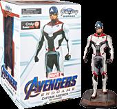 "Avengers 4: Endgame - Captain America Team Suit Marvel Gallery 9"" PVC Diorama Statue"