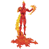"""Fantastic Four - Human Torch Marvel Select 7"""" Action Figure"""