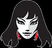 Vampirella - Vampirella by Frank Thorn Enamel Pin