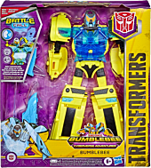 "Transformers - Battle Call Officer Bumblebee Cyberverse 10.5"" Action Figure"
