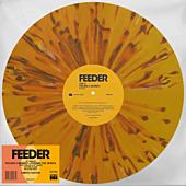 "Feeder - Feeling a Moment / Pushing the Senses 10"" Split Single Vinyl Record (2020 Record Store Day Exclusive Orange / Black Splatter Vinyl)"