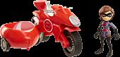 "Incredibles 2 - Elasticycle & Elastigirl 3"" Action Figure Set | Popcultcha"