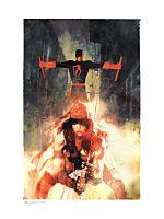 Daredevil - Elektric Connection Fine Art Print by Bill Sienkiewicz
