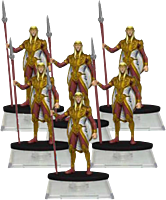 Dungeons and Dragons - Attack Wing Sun Elf Guard Troop Expansion (Wave 1)
