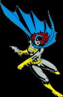 Batman - Batgirl Character Lensed Emblem