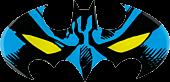 Batman - Batman Batwing Face Logo Lensed Emblem