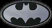 Batman - Batman Classic Logo Chrome Lensed Emblem