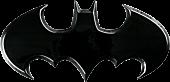 Batman - Batman Batwing Logo Black Premium Emblem