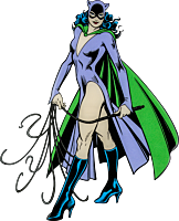 Batman - Catwoman Character Lensed Emblem