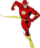 The Flash - The Flash Character Lensed Emblem