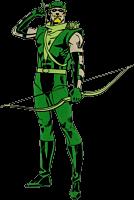 Green Arrow - Green Arrow Character Lensed Emblem
