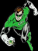 Green Lantern - Green Lantern Character Lensed Emblem