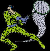 Batman - The Riddler Character Lensed Emblem