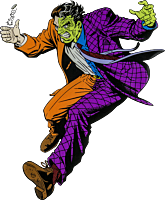 Batman - Two Face Character Lensed Emblem