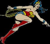 Wonder Woman - Wonder Woman Character Lensed Emblem