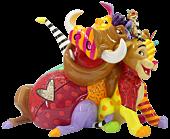 "The Lion King - Simba, Pumba & Timon 6"" Statue by Romero Britto"