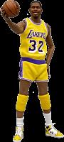 NBA Basketball - Magic Johnson 1/6th Scale Action Figure