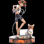 Cowboy Bebop - Ed & Ein 1/4 Scale Statue