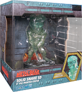 """Metal Gear Solid - Solid Snake Stealth Camouflage 8"""" PVC Statue"""