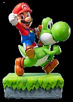"""Super Mario World - Mario & Yoshi 19"""" Statue"""