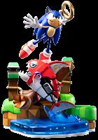 "Sonic the Hedgehog - Sonic the Hedgehog vs Chopper 11"" Diorama Statue"