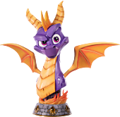 Spyro the Dragon - Spyro the Dragon 1:1 Scale Life-Size Bust