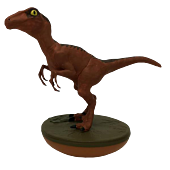 "Jurassic Park - Velociraptor Revos 4"" Vinyl Figure"