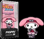 Naruto Shippuden x Hello Kitty - My Melody Sakura FigPin Enamel Pin