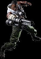 "Final Fantasy 7 - Barret Play Arts Kai 11"" Action Figure Main Image"