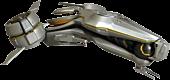 """Forerunner Phaeton Ship 6"""" Replica"""